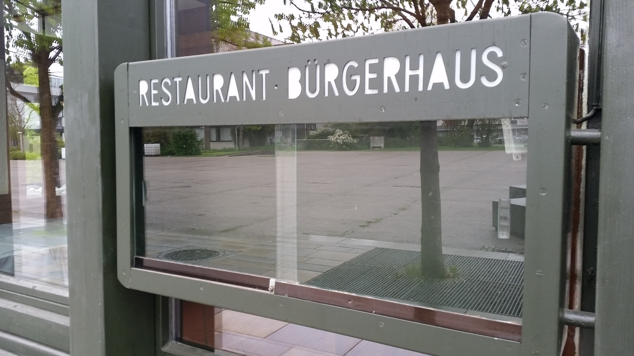 Speisekarte Bürgerhaus