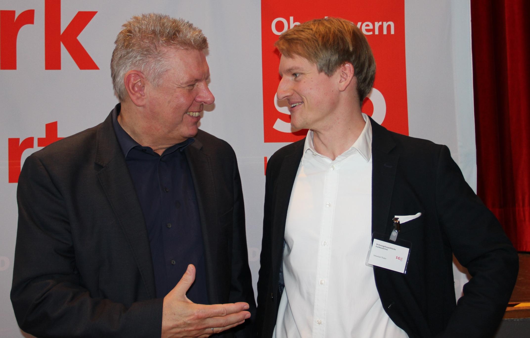 Sebastian Thaler mit Dieter Reiter