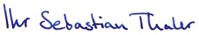 Ihr Sebastian Thaler